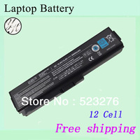 Hot sale 12-Cell  New Laptop Battery For Toshiba PA3817U