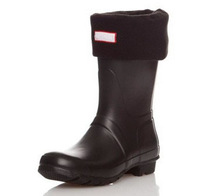 Free shipping NEW polar fleece women men's unisex short socks,size M and L ,suitable for short style rainboots