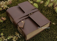 Quality Genuine Leather Vintage Notebook Notepad Travel Journal Diary Book Creative Gift