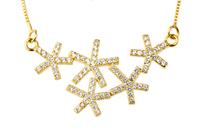 925 Sterling silver necklaces & pendants1 piece dropship women's necklace GNX0247