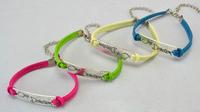 20 Colors Wholesales!!Fashion One Direction Weave Leather Charm Bracelet Wrap Bracelets 40PCS/LOT Free Shipping