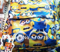 Free shipping  minions backpack for grade 2 - 6  wholesale