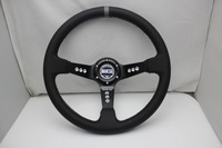 Free shipping 2013 hot new leather steering wheel modified