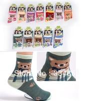 100% cotton children socks autumn student socks spring and autumn male female