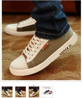 2013 HOT Men casual shoes vintage  canvas casual flats men sneakers on sale