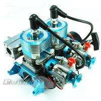 R/C Boat model toys Engines High Speed 52cc Gasoline Twin-engine  GH352