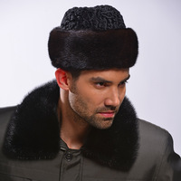 Jazz hat berber fleece fur hat mink hair hat male quinquagenarian gentleman hat autumn and winter thermal