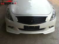 Carbon  Fiber material  JP style Front lip design for  Infiniti  10-12  G35 sedan Front lip