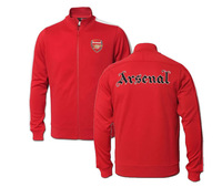 A+++ 2014 TOP Thailand quality Arsenal Jacket Blue Red Soccer Jacket Coat 13/14 Football jackets Men Training Sportswear Coat