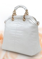PO 2013 women's big fashion leather handbag  shoulder bag
