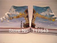 Anime Shoes one piece anime Ace Shoes Custom Hand Painted Shoes Custom Shoes Custom Sneakers