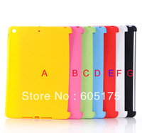 100PCS For Apple iPad Air Candy TPU Case,Smart Cover Solid Color Soft TPU Gel Back Cover Case For iPad Air
