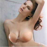 Silica gel invisible bra push up pad swimwear wedding dress tingbu wave thickening push up invisible bra