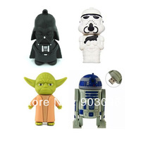 Free Shipping 4pcs/lot Cartoon Cute  Model 2GB 4GB 8GB 16GB 32GB USB 2.0 Flash Memory Stick Drive Car/Pen/Thumb