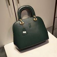 2013 messenger bag genuine leather handbag women's hot-selling fashion cowhide handbag shoulder bag shell