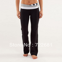 Free Shipping 2013 new style Wholesale retail LULULEMON pants Cheap lulu lemon yoga pants Casual Sport Wear Size XS-XL
