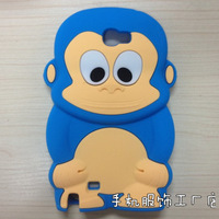 1PCS High quality Cartoon Handsome Money Silicone Protective Cover Case for Samsung Galaxy Note 2 N7100