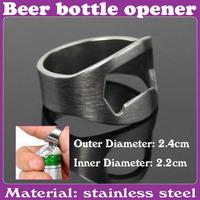 30 pcs/Lot_Finger Ring Beer Bottle Opener