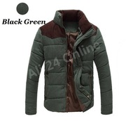 2013 men's winter coat/ thick collar male Korean version of the influx Slim/ casual men's padded jacket, 3colors, Free shipping