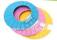 Thickening adjustable baby shampoo cap children cap shower cap baby hat