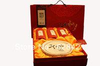 Hunan Baishaxi San jian he yue (pressie) Dark tea Qiangliang cake/Tianjian/Yajian/Yunjian gift box BSX009