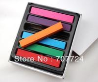 6pcs/box Chalk Hair Color Temporary color Hair Chalk Fun Fast Easy Soft Pastel Chalk HC024