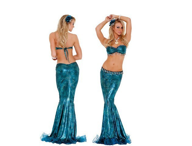 Best Adult Clothing Designer Games Mermaid Long Dress Adult Game