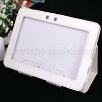 DHL free shipping wholesale Leather case for Kindle Fire HD 7
