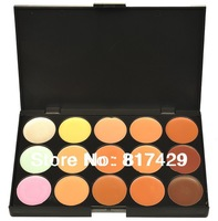 Wholesale New Professional 15 Colors Concealer palette Makeup Camouflage Make up Neutral Palettes Free Shipping