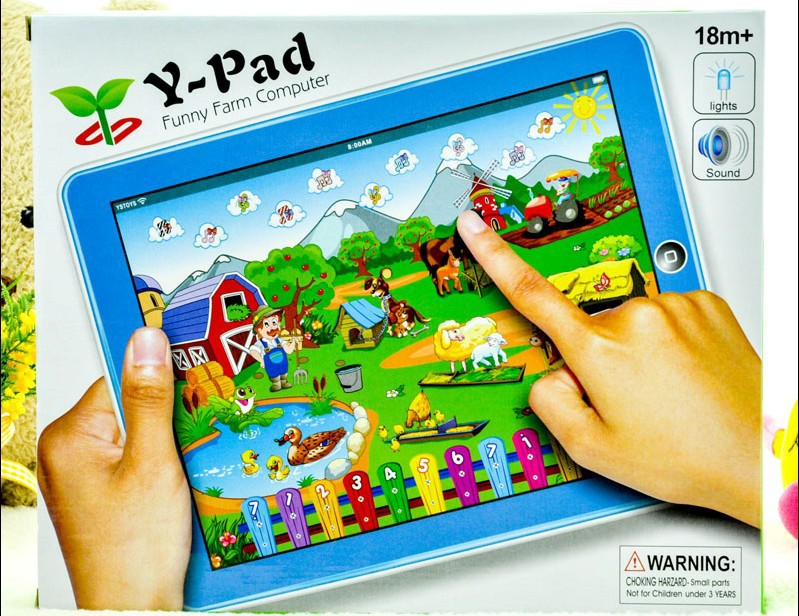 Free Shipping 1pcs kid English table computer learning Machine,Y-pad learning machine,educational toys for children(China (Mainland))