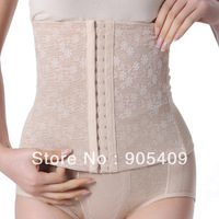 Multi-Breasted Slim Underbust Belt Postpartum Waist Abdome Control Girdle Corset Free shipping