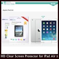 Original NILLKIN High Definition Clear Anti-fingerprint Screen Protector for Apple iPad Air 5 + Retail + Free shipping