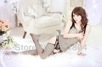 Gauze Temptation Sexy lingerie Tights Halter Open file Coveralls socks Shipping 260