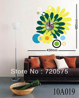 DIY Stickers Wall Clock Creative Fashion Large Modern Designer Decor Mural Art 10A019 Free Shipping