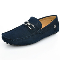 Spring and autumn genuine leather foot wrapping male gommini men's popular loafers fashion male sailboat casual shoes