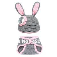 Fashion Baby Clothes Handmade Crochet Clothes For Baby Animal Model Photography Clothes XDT-008