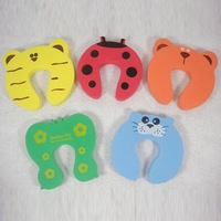 New 8Pcs Animal Cartoon Jammers Child kids Baby Stop Door stopper holder lock Safety Guard