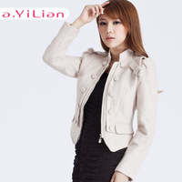 Ayilian 2013 autumn new arrival female casual all-match thin circle nerong 23252 short jacket