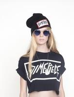 2014 Fashion woman winter hat DIMEPIECE Beanies Hats Cheap Hip Hop cotton beanie knitted hat