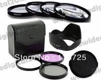 58MM UV CPL FLD Filter Kit + 58MM  Macro Close Up Filter Lens Kit +1 +2 +4 +10   for Canon EOS 1100D 1000D 650D 600D