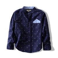Free Shipping  2013 fall new boy casual collar shirt