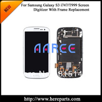 New  Original  For Samsung  Galaxy S3 i747/T999 LCD screen  Digitizer Assembly with frame -White  Free shipping