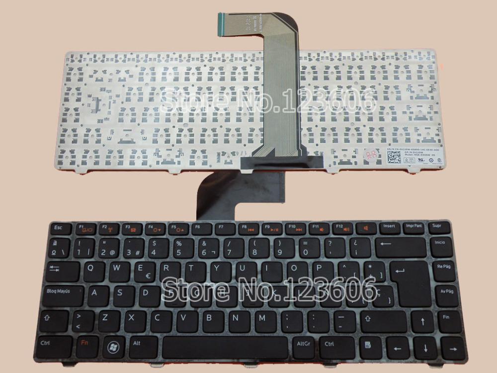 NEW Keyboard For DELL Vostro 3350 3450 3460 3550 3555 3560 V131 Spanish Teclado Black(China (Mainland))