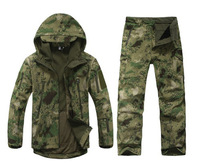 set Winter Waterproof Camouflage Hunting Clothing,Hunting Camo Jacket and Hunting Pants