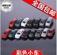 DIY construction sand table model material / scene model / color car transport car 1:150 Model cars Free Shipping