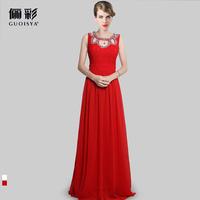 Guoisya 2013 evening dress long formal design wedding dress fashion lace skirt