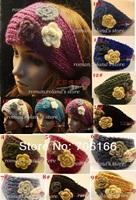 New style,women handmade crochet headband,girls knit headwear, ladies hairband,DHL /EMS free shipping