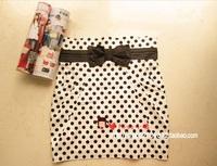 2013 plus size dress bust skirt bag skirt all-match bag dress flower polka dot slim skirt