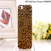 20pcs/lot  Free Shipping Luminous Leopard protective case for iphone5,Luxury Cover and high quality for iphone5 cover+free gift
