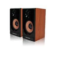 Audio speaker pure wood audio wool speaker 2.0 usb audio subwoofer